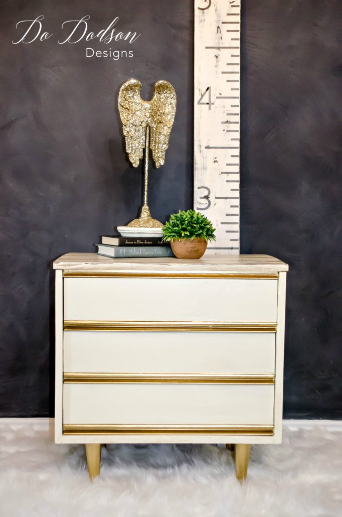 Dixie Nightstand / Painted Furniture Makeover