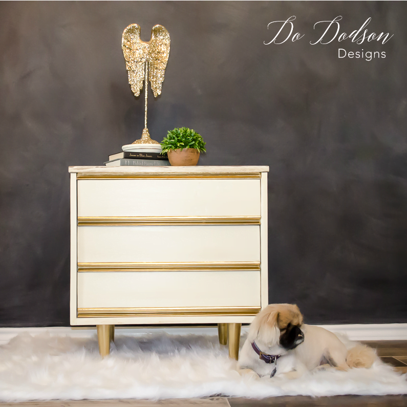 Dixie nightstand furniture makeover