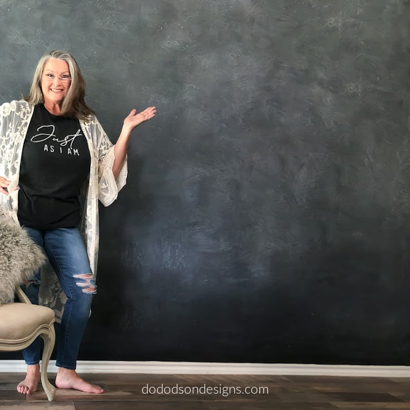 How To Make A DIY Chalkboard Wall In Your Home