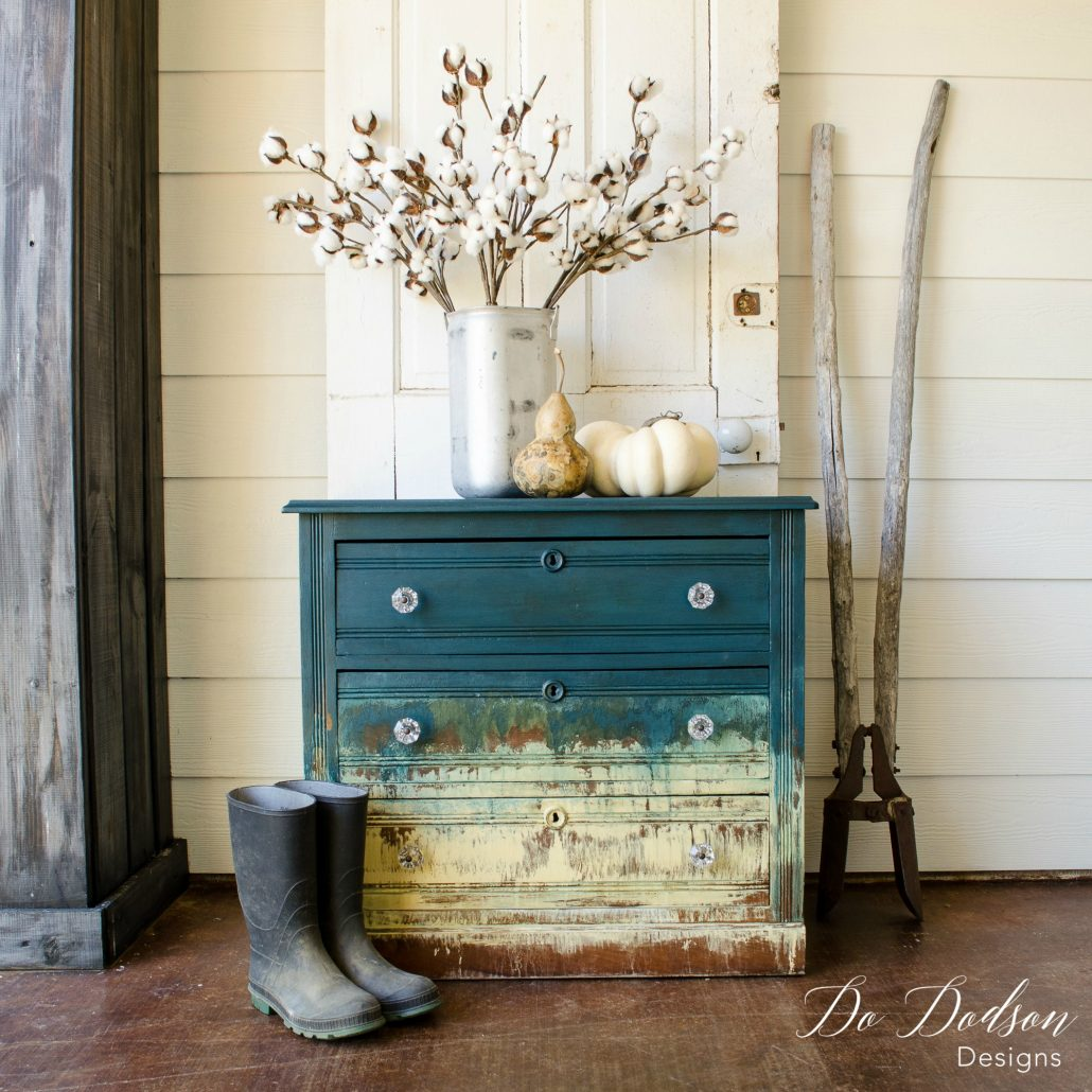 Hand painted furniture is a great way to express your artistic visions.