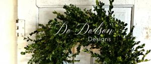 How to make an outdoor wreath.