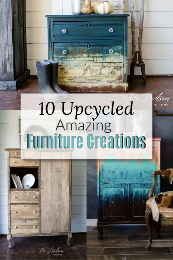 10 upcycled Amazing Furniture Creations for Your Inspiration