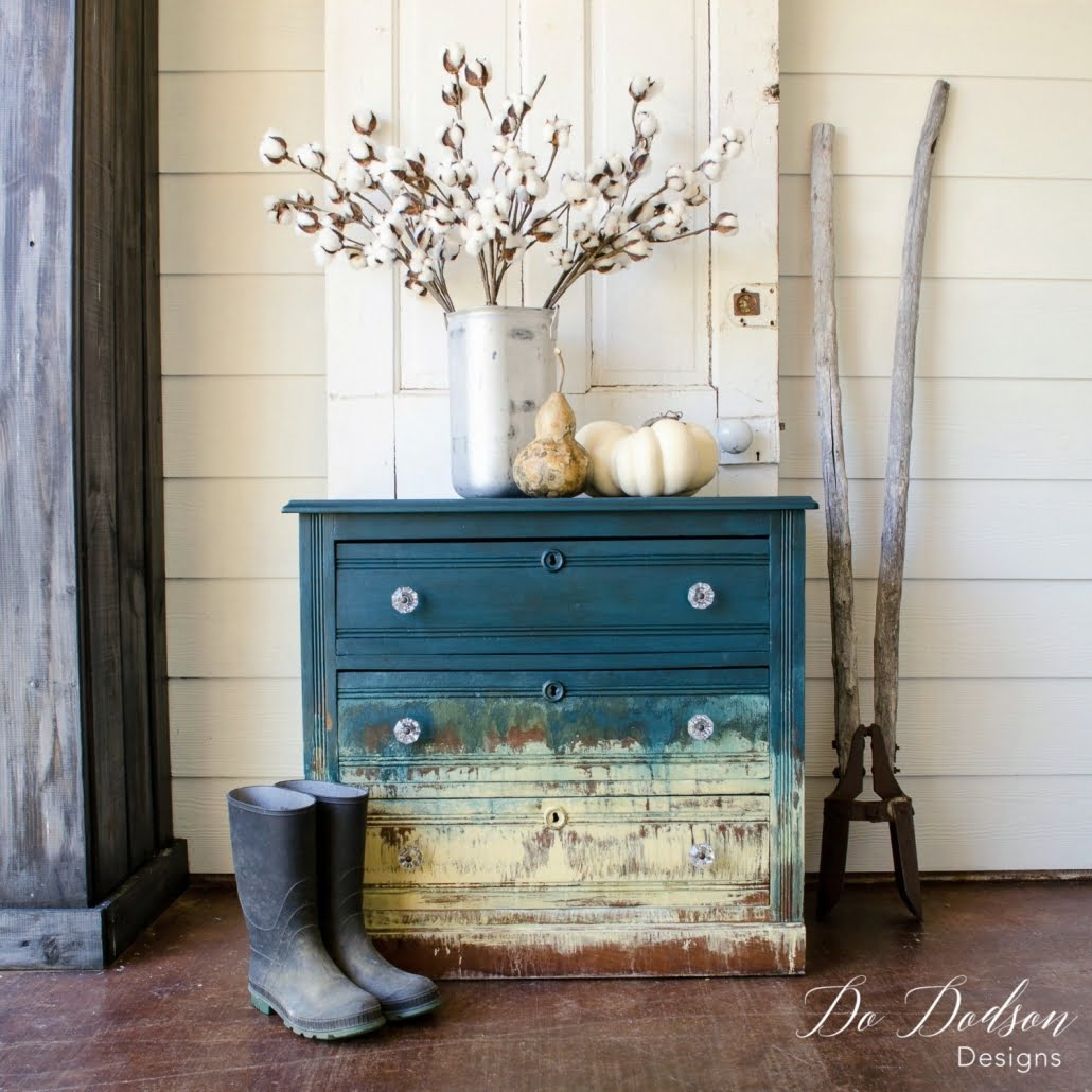DIY hand painted furniture creations. This is a fun finishes and not hard to do.