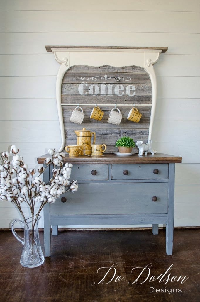 Painted Furniture for the coffee snob in you!