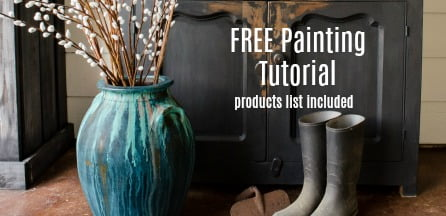 Get Your FREE Video Tutorial Now And Start Creating Beautiful Primitive,  Rustic Finishes On Your Furniture.