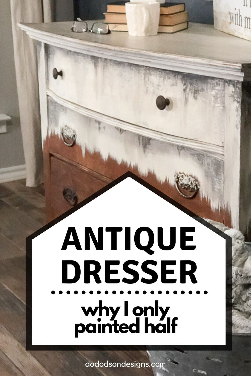 Antique Dresser Makeover With Chalk Paint