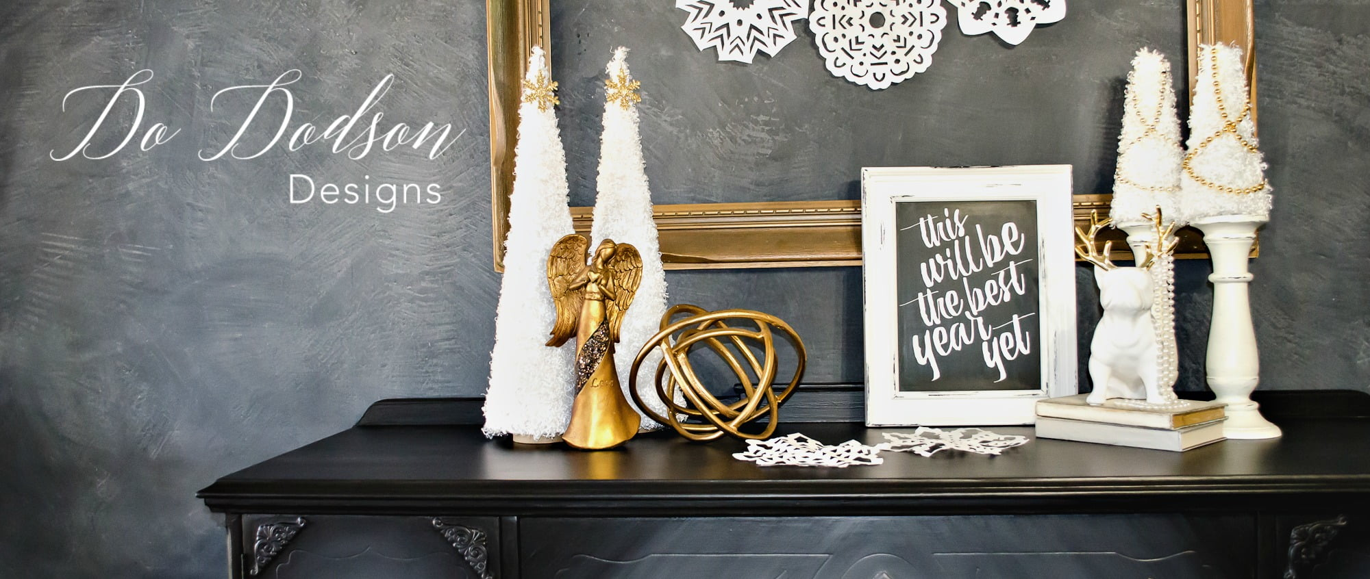 How to Make Your Black Furniture Look More GLAM!