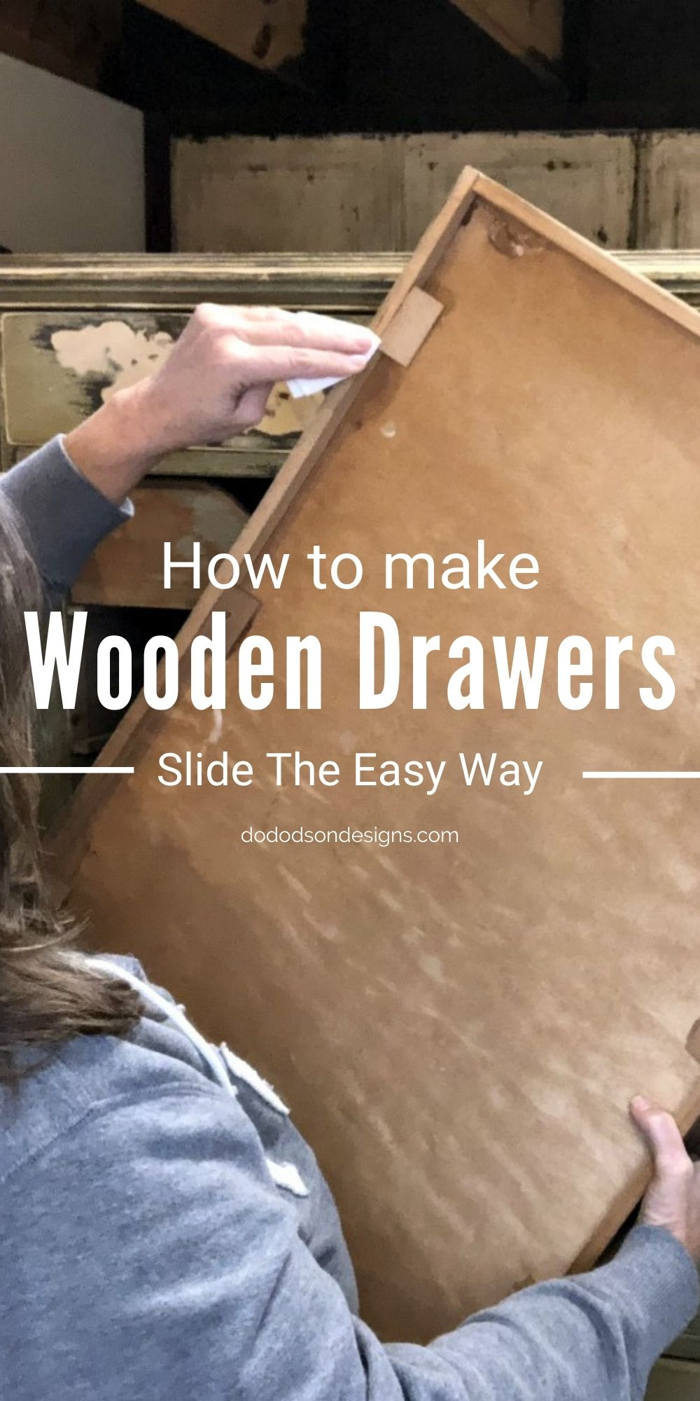 How To Make Wooden Drawers Slide The Easy Way
