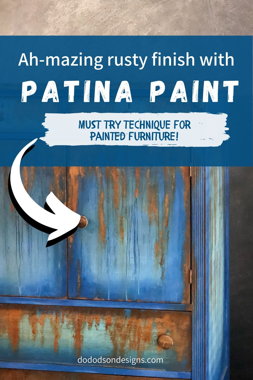 How To Update Second Hand Furniture With Patina Paint