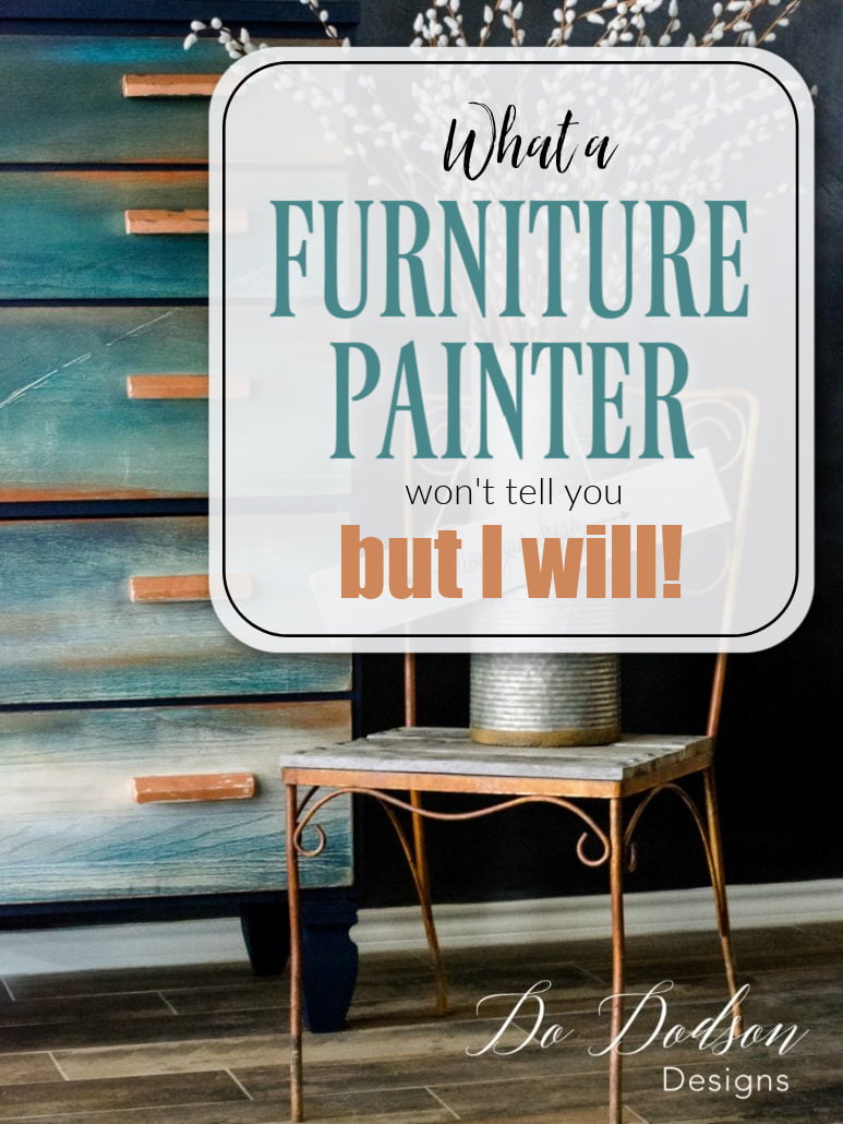 Behind the Scenes of a Furniture Painter