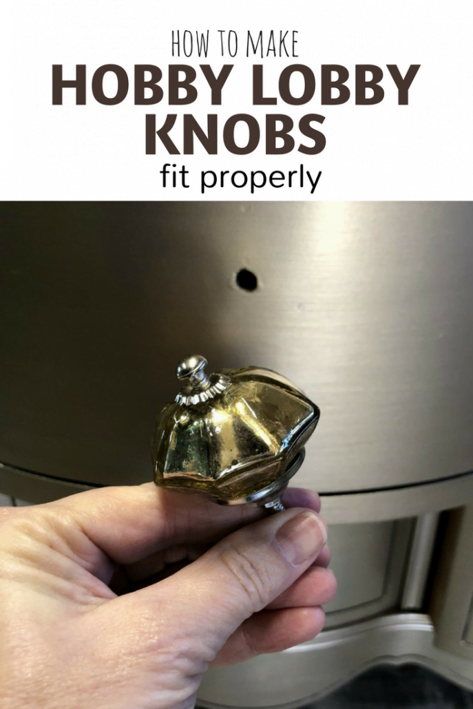 Hobby Lobby Knobs #dododsondesigns #hobbylobbyknobs #furniturerepair