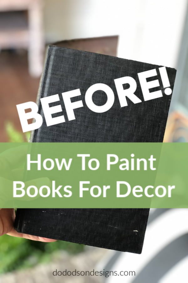 Painted books are trendy in home decor, so I thought it would be fun to add a little more character by painting them. Here are some fun, easy ways to put a personal spin on painting books to match your own style.
