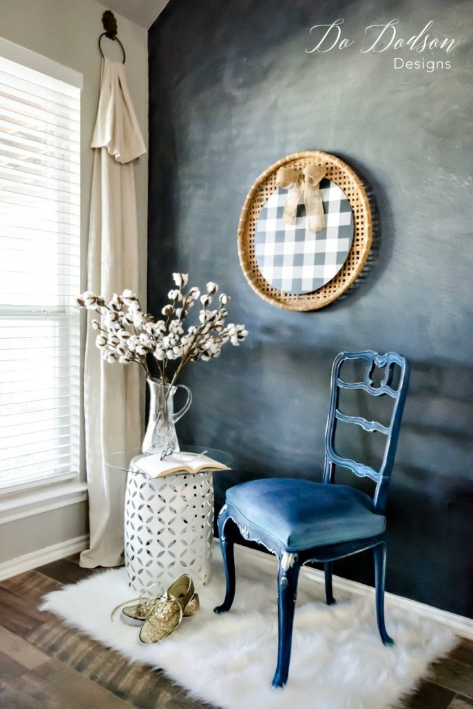 Painting fabric is a great option when you want to save time and money with your makeovers.