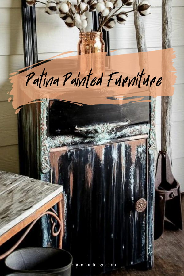 How To Add Copper Patina To Painted Furniture