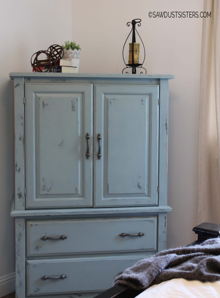 Old Armoire Renovation