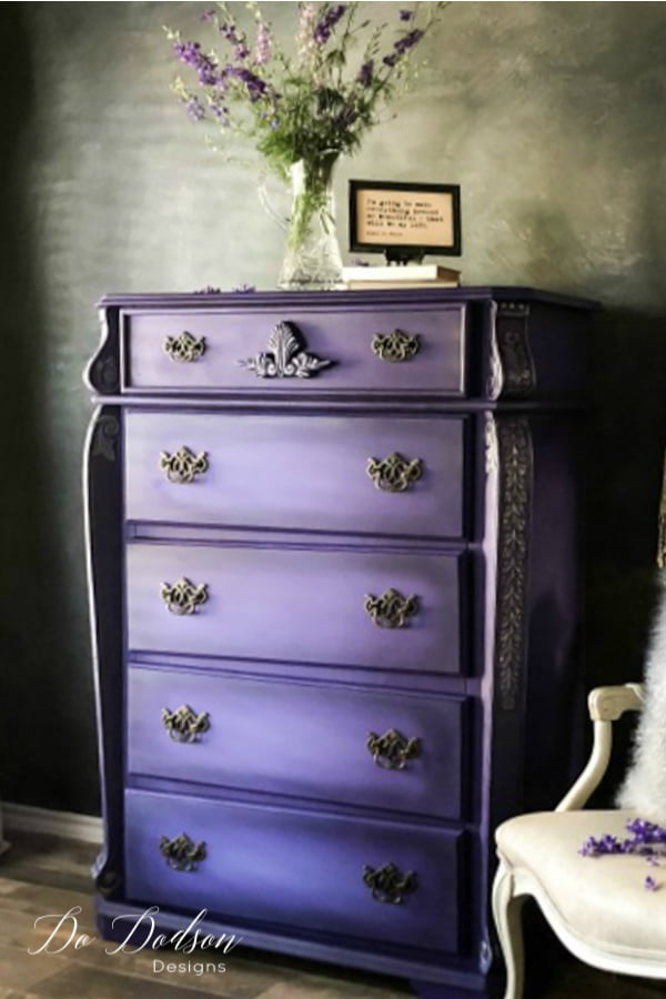 Such a regal bright color! Are you BOLD enough to use purple in your home decor and designs?