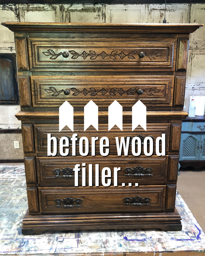 The Best Wood Filler To Cover Decorative Carvings