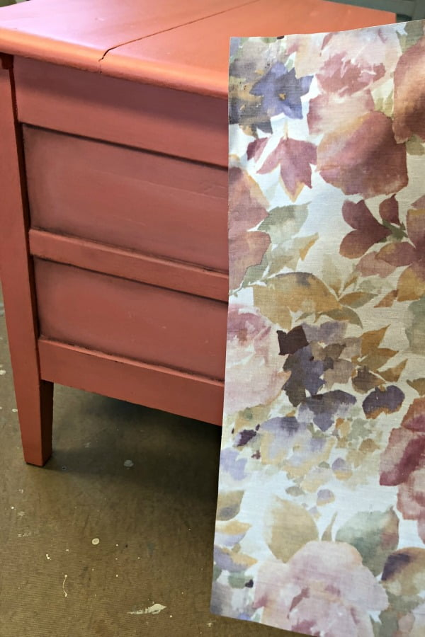 This paper will be perfect for this vintage dresser.