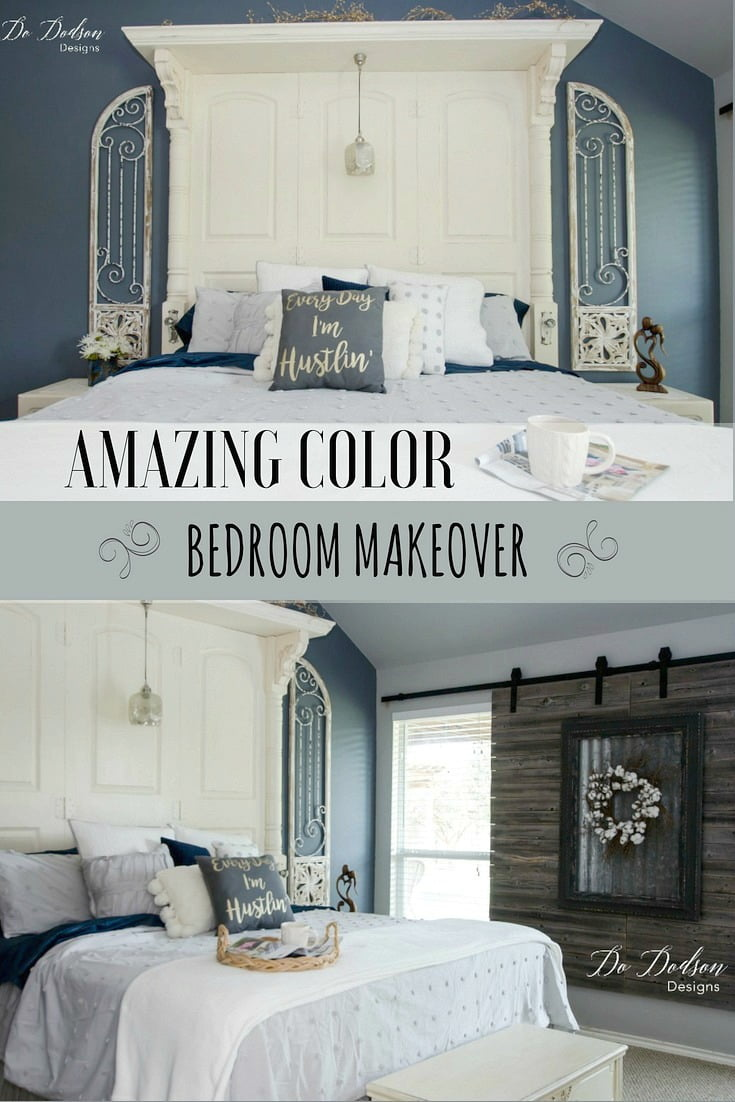 How I Added Accent Colors To My Bedroom Makeover
