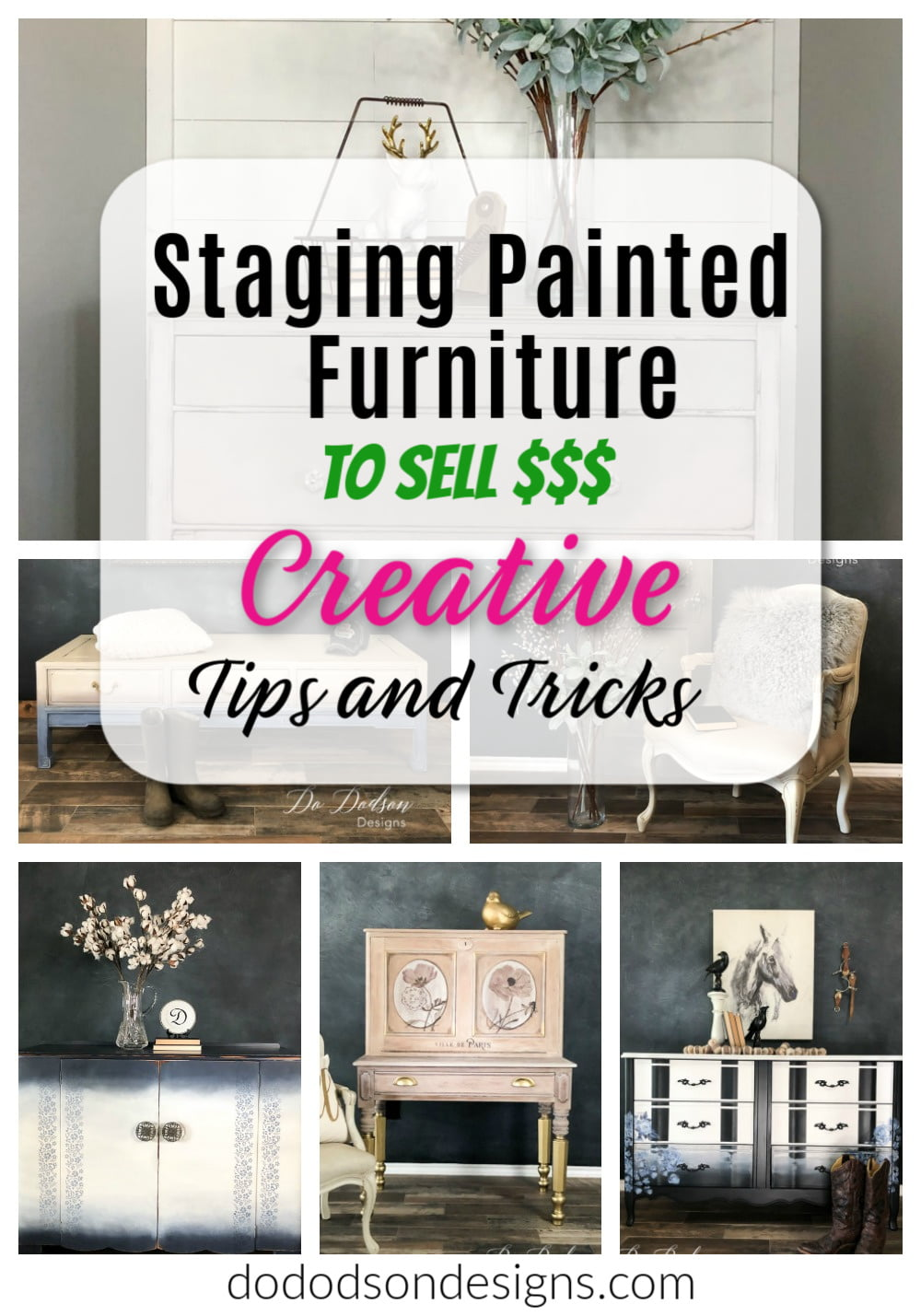 Staging Furniture To Sell for Maximum $$$ Profit
