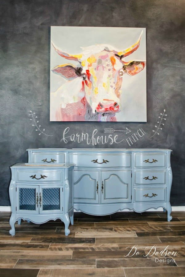 I love the look of this french farmhouse dresser.