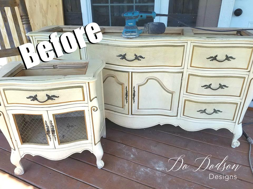 Beautiful French Farmhouse Dresser Makeover