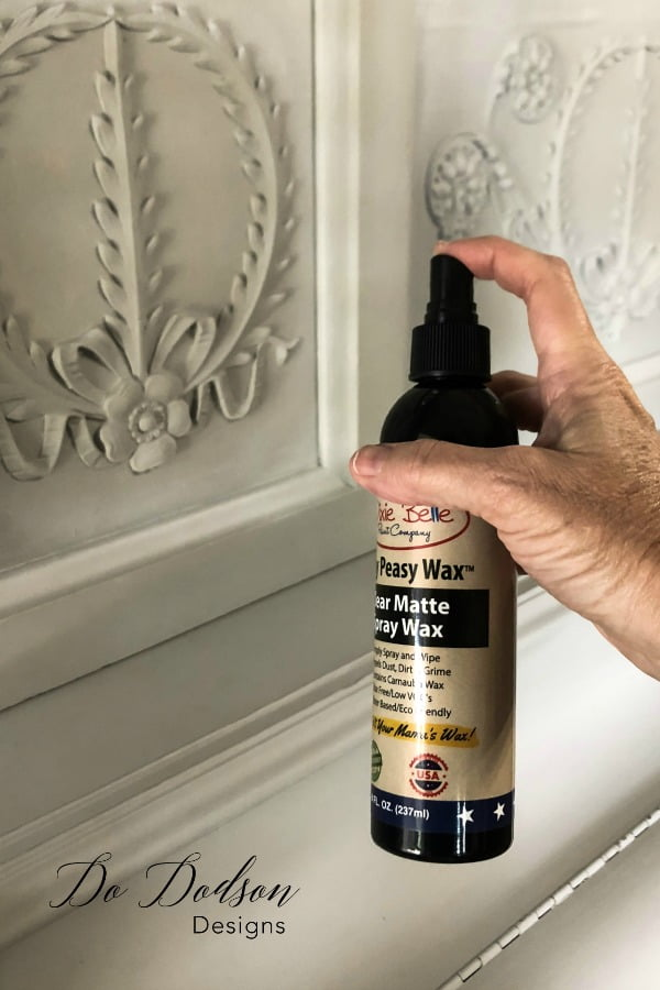 How to paint a piano and seal with spray wax.