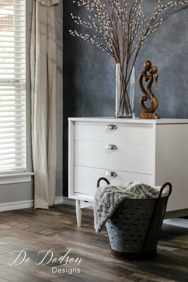 I still love the classic look of white paint. Furniture painting is a great way to freshen up those old pieces.