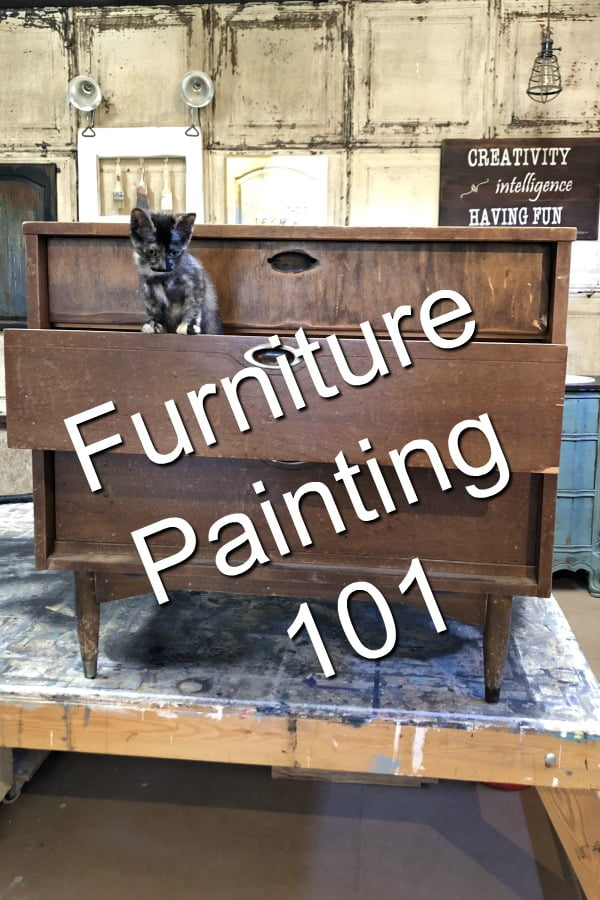 Following the basic steps of furniture painting is important if you want a beautiful finish that you can brag about.