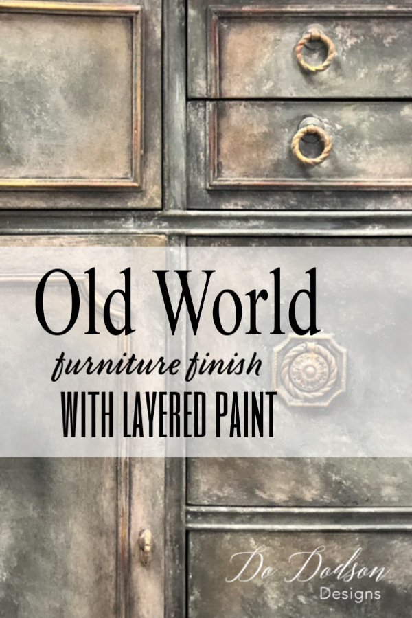 Get An Amazing Old World Look With Layered Paint