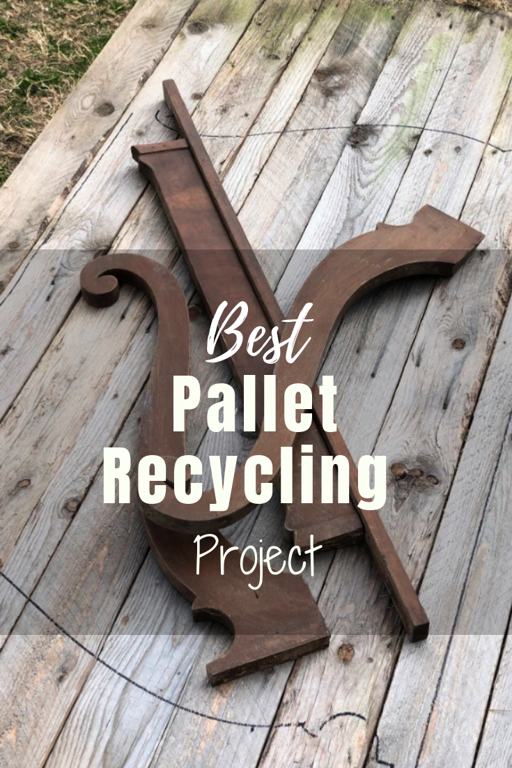 The Best Pallet Recycling Furniture Project EVER!