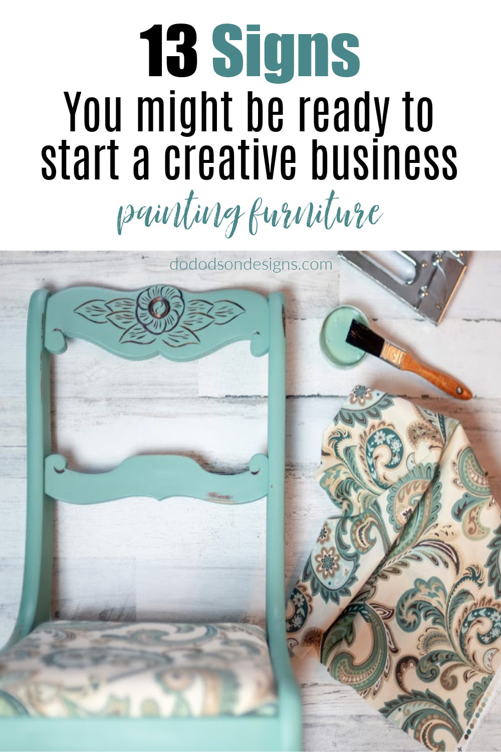 When To Start A Creative Business Furniture Painting