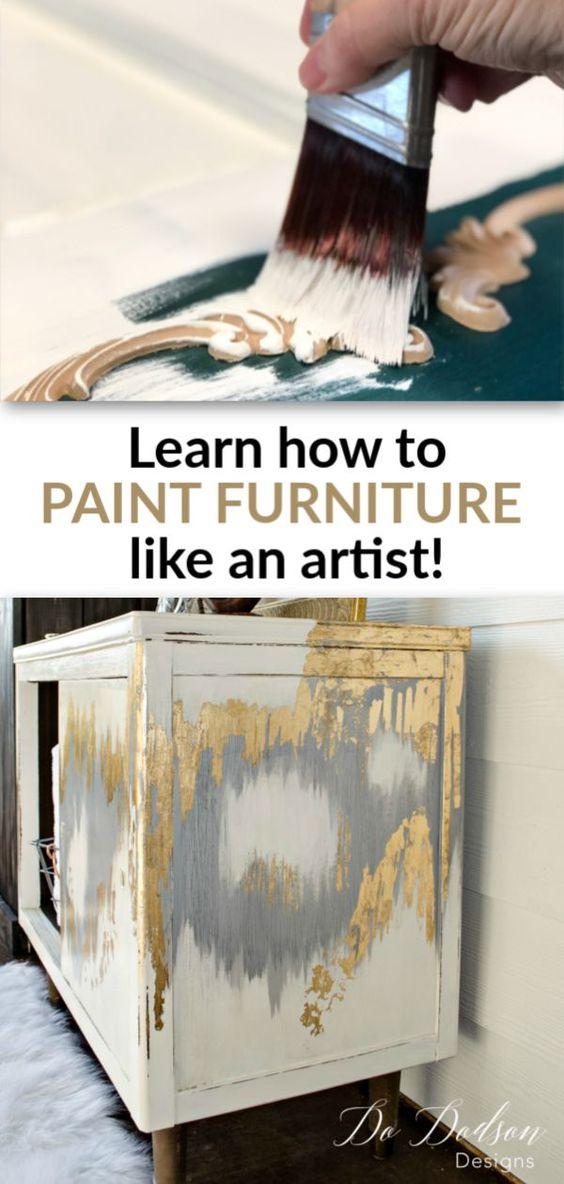 Learn How To Paint Furniture With Video Tutorials