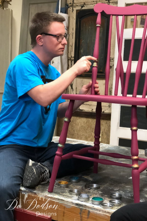 Painting Chairs With No Limits