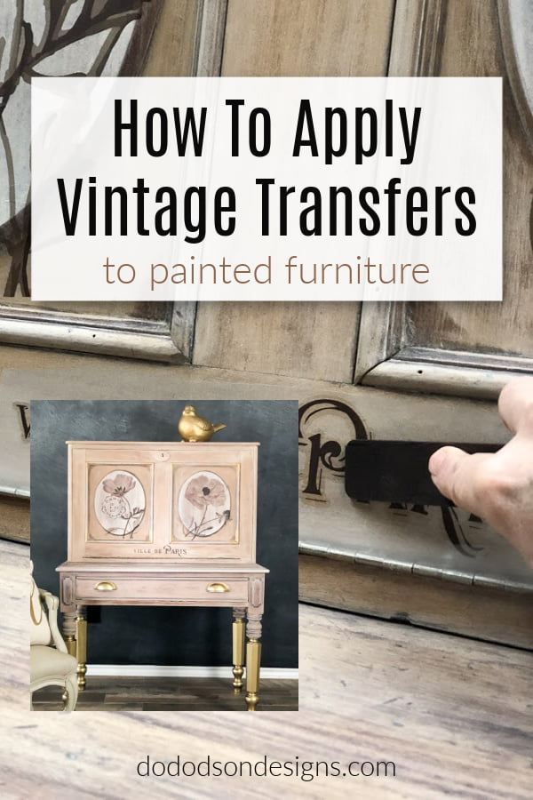 How To Quickly Transform A Vintage Desk Into Amazing!