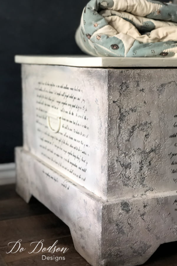 How To Add Amazing Painted Texture To Furniture