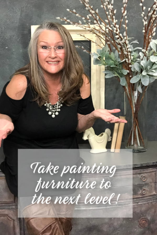 "Want to learn how to make even more money in your painting furniture business? Get my FREE COURSE ""How To Make More Money In Your Painting Furniture!"""