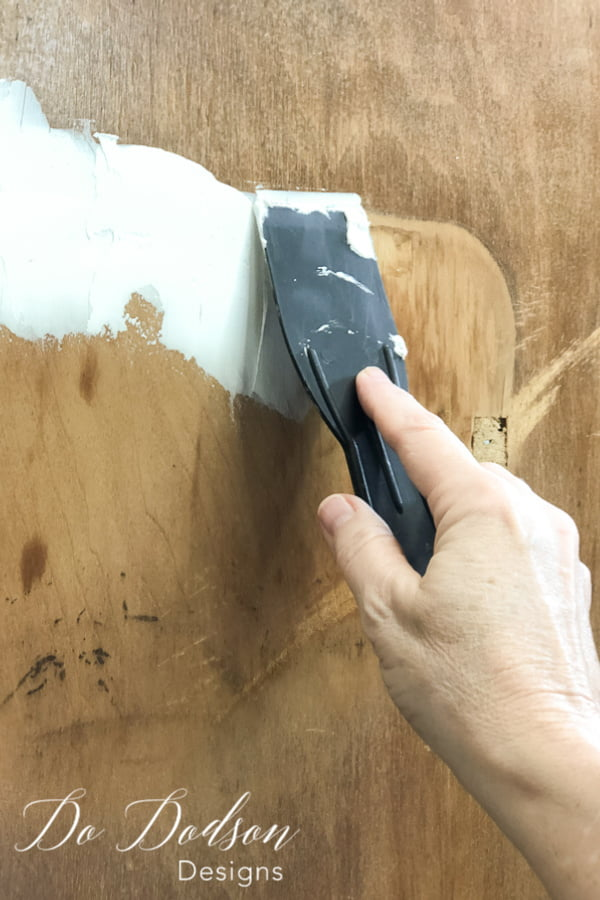 Easy Wood Filler For Furniture Painting Projects