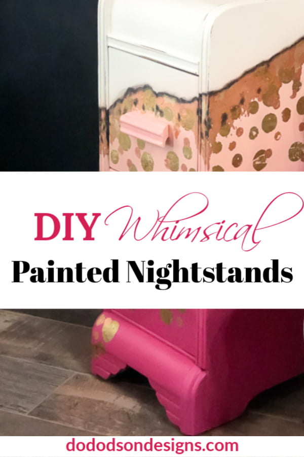 Painted Nightstands With A Whimsical Attitude