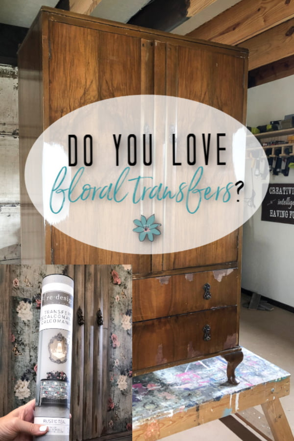 Do you love floral transfers transfers for furniture?