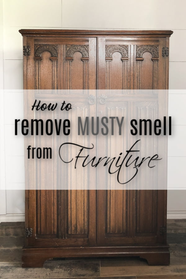 How to remove those musty smells from your furniture.