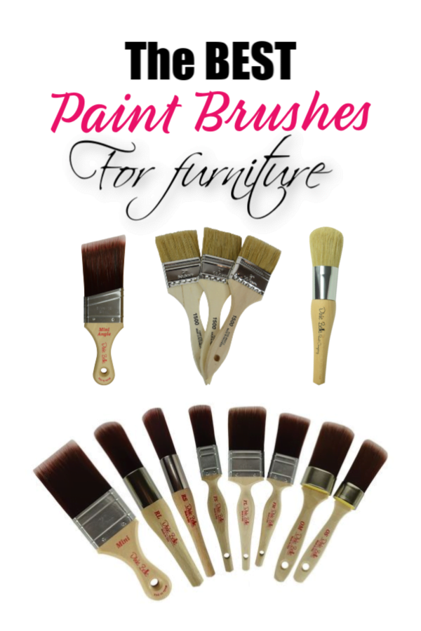 My Favorite Paint Brushes For Furniture Painting