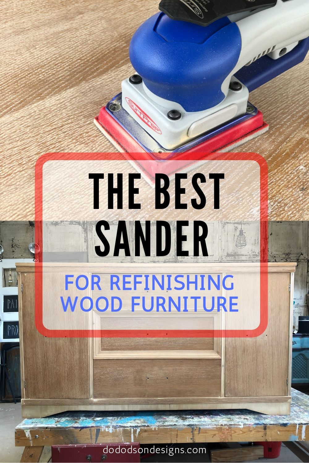 The Best Sander For Refinishing Wood Furniture
