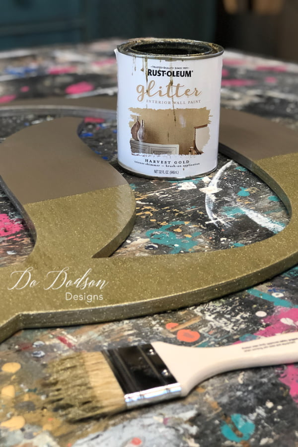 How To Decorate Wood Letters With A Unique Style