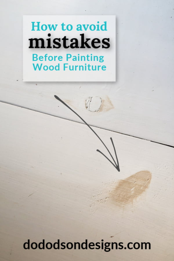 Avoid these mistakes before painting wood furniture or you'll get this!