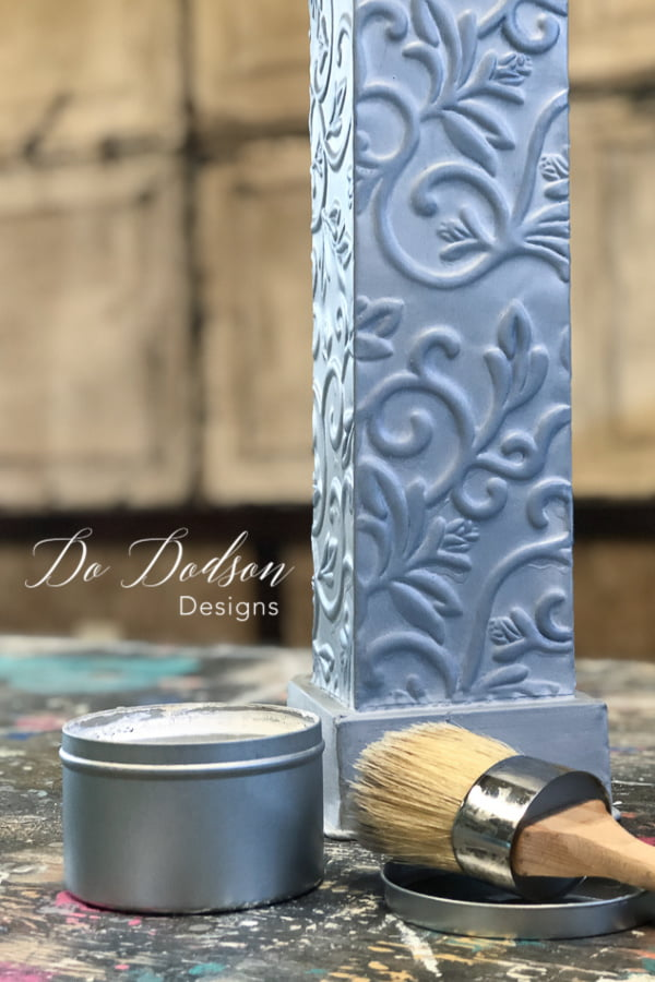 Painting ugly out of date home decor is a great way to up-cycle and bring it back to today's style.