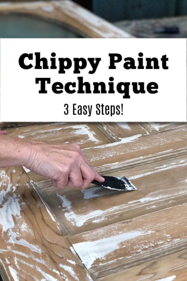 No-Fail Chippy Paint Technique That Anyone Can Do
