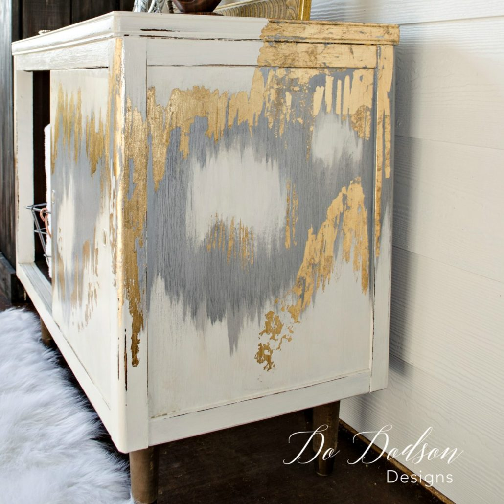 Artistic Gold Metal Leaf Furniture