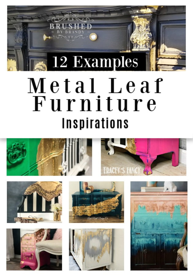 Because I can\'t get enough of the metal leaf furniture, I decided to do a round-up of a few of my favorites. Get ready to be inspired!