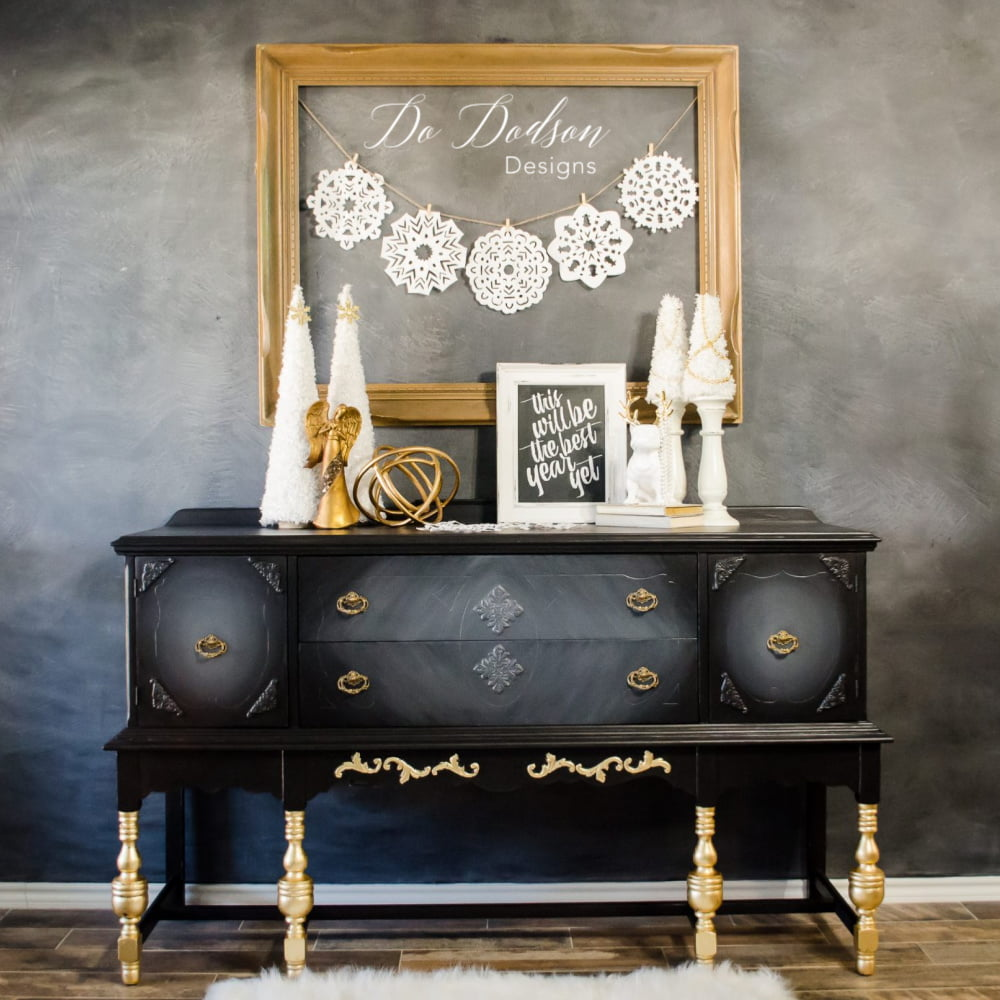 Glamorous Gold Metal Leaf Furniture
